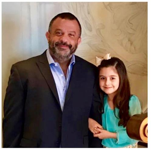 Adam Weitsman and daughter Clover Weitsman